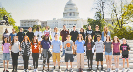 LC 8th Graders Have an Amazing Time in D.C.