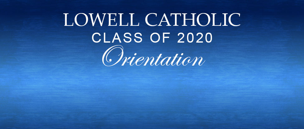 The class of 2020 orientation
